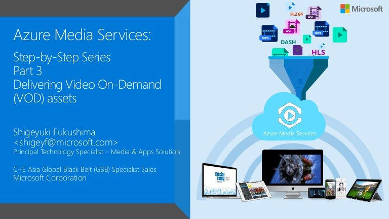 azure media services step by step tutorial docs series part 3. Black Bedroom Furniture Sets. Home Design Ideas