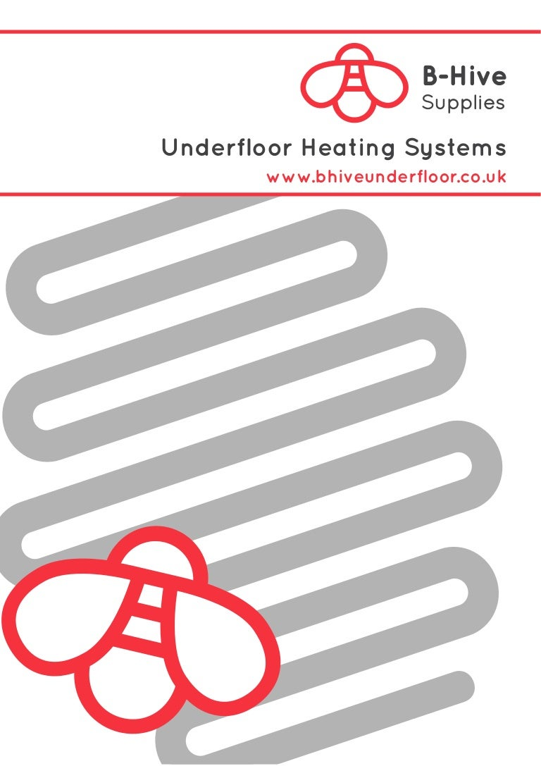 Just a little about the systems underfloor heating 41