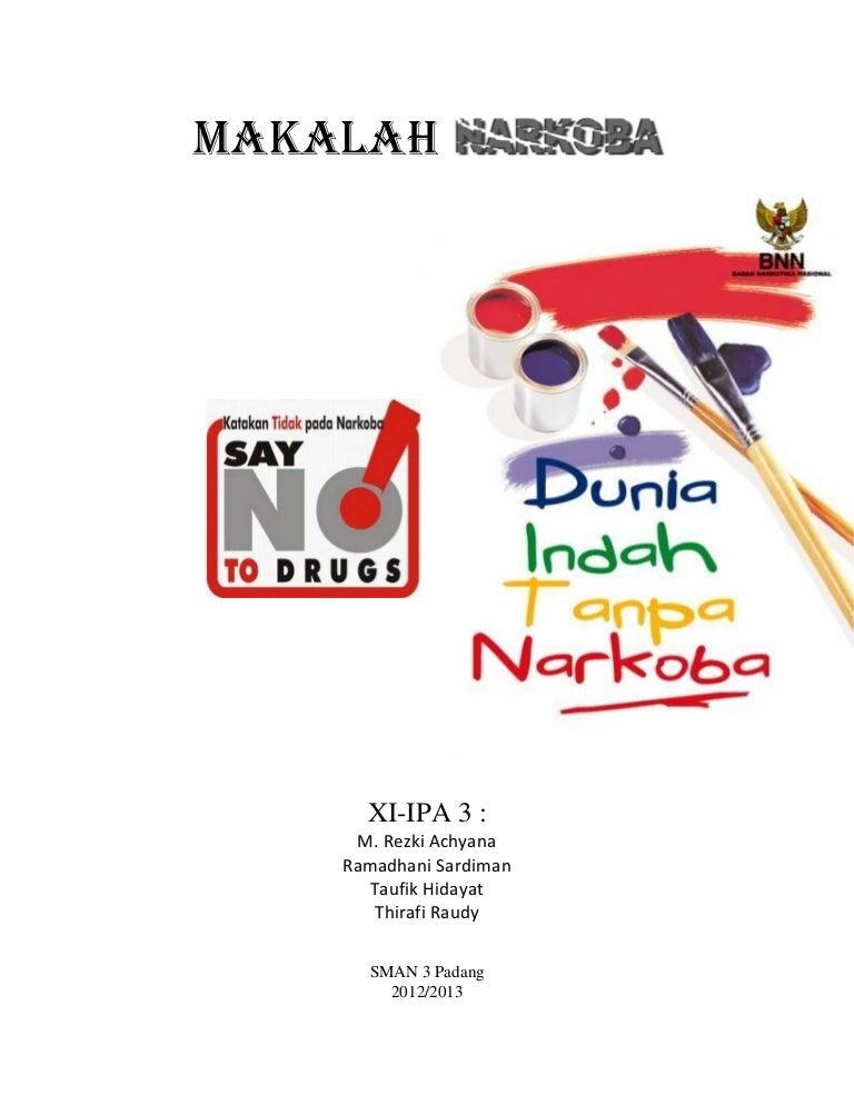 B Indonesia Makalah Tentang Narkoba