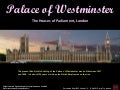 Palace of Westminster, House of Parliament