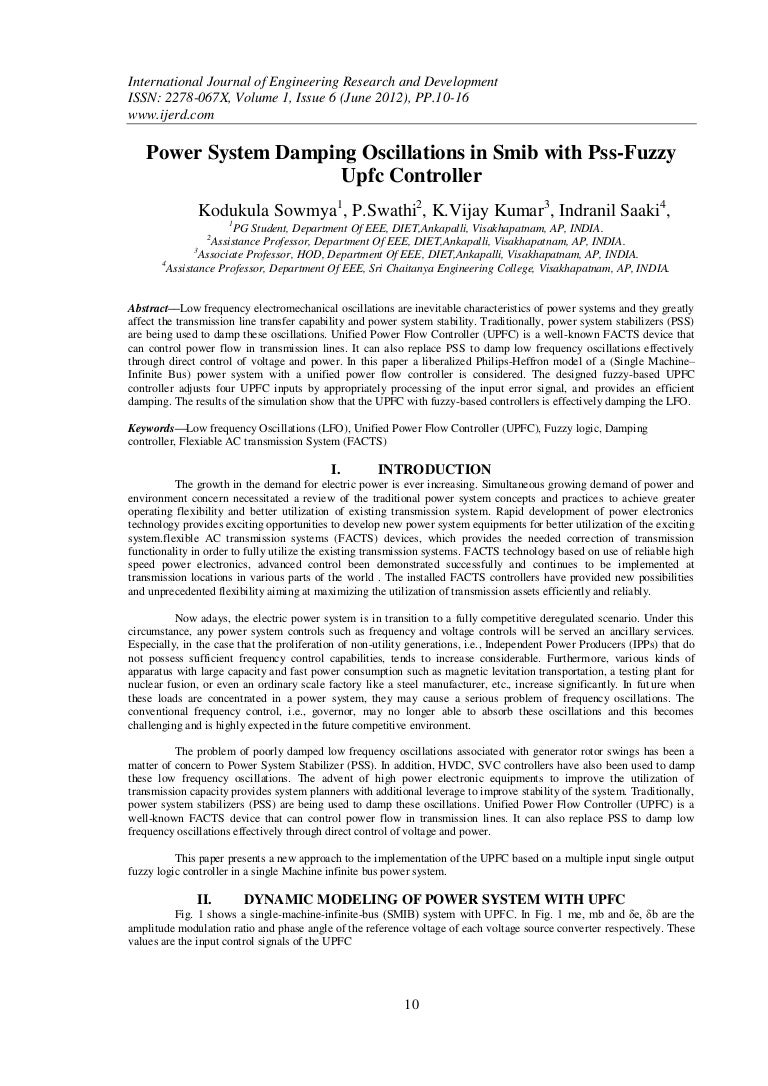 Power System Voltage Stability  Electric Power Research Institute     Elsevier