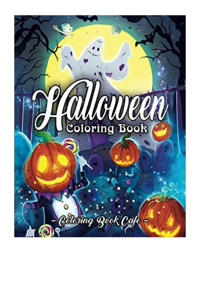 - 2019) Halloween Coloring Book (PDF) An Adult Coloring Book Featurin…