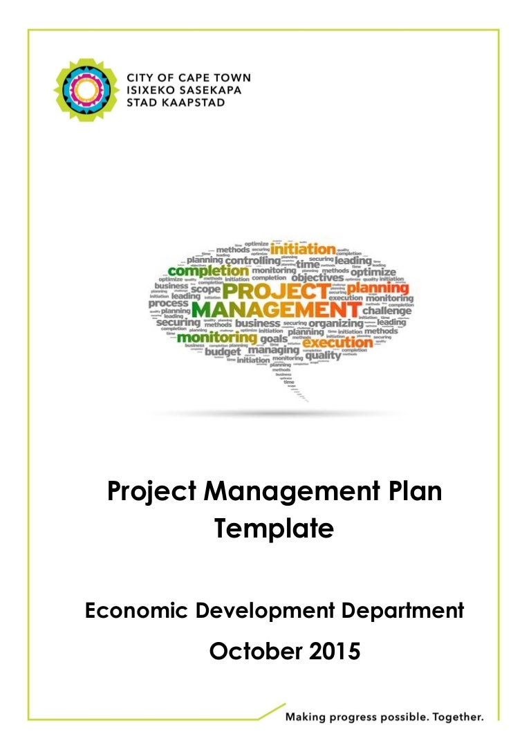 Proposed Project Plan Template