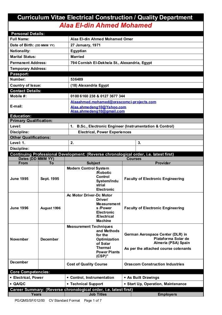 Alaa QA-QC last Applicant CV-2