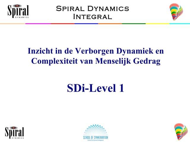B1 SDi-1 Intro & Graves Theory Dutch v1101