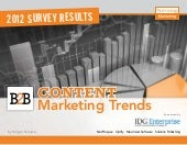 B2B Content Marketing Trend 2012-13
