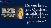 Top B2B Lead Generation Strategy
