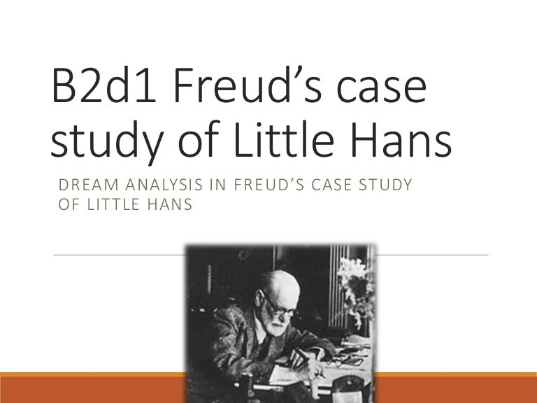 little hans As psychology: core studies cognitive psychology  little hans', it was argued, was afraid of horses because the horse was a symbol for his father.