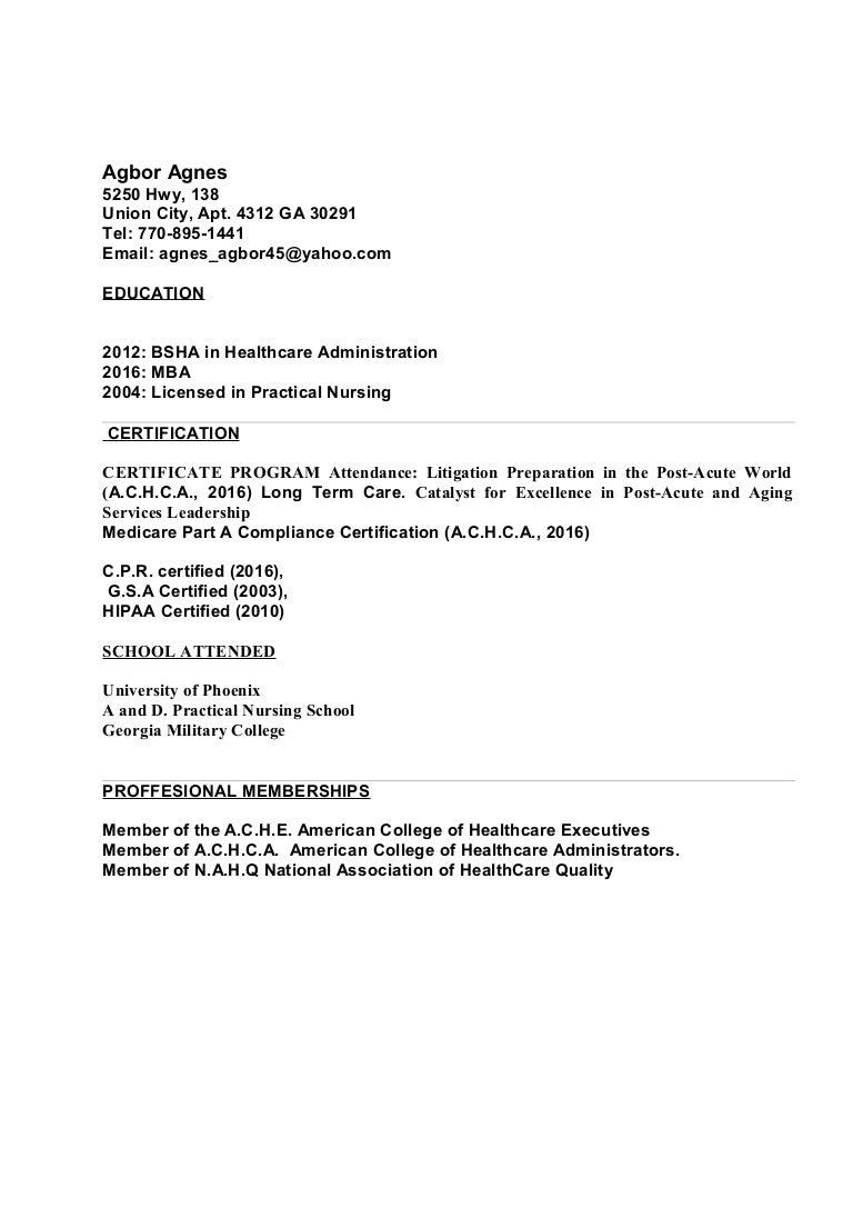 Resume 70