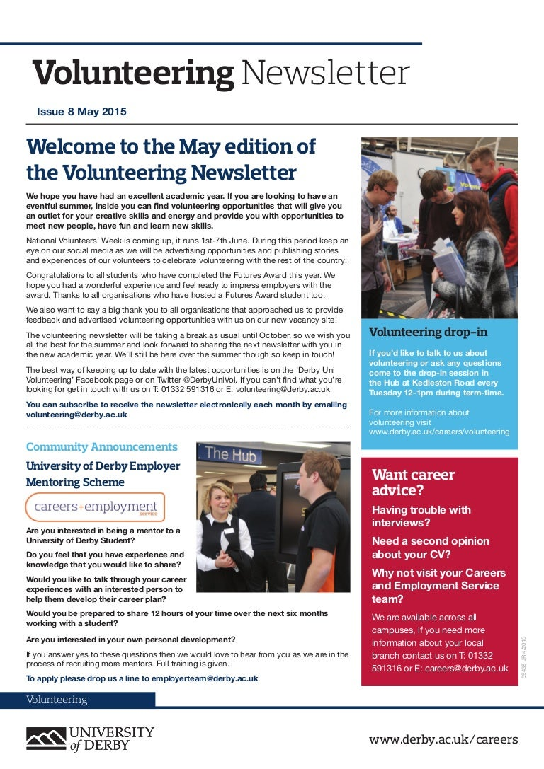 volunteering newsletter
