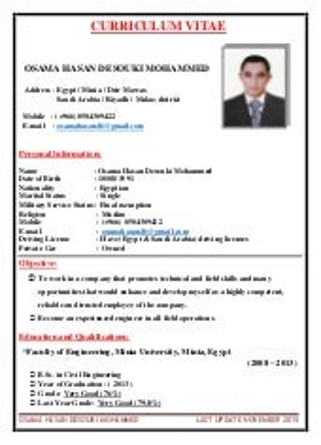 CV of OSAMA HASAN 8