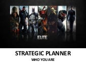We Are Strategic Planner