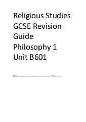 How to Answer GCSE RE Questions