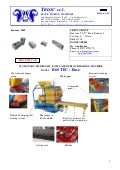 Automatic made in Italy concrete block making machine