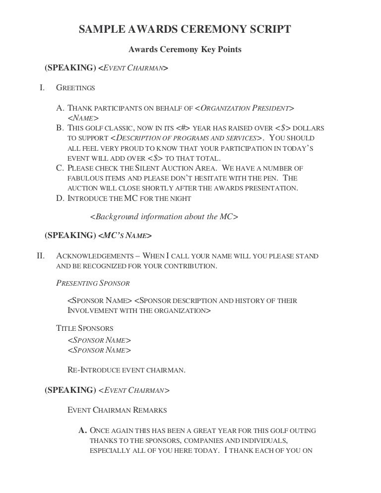 gd awardceremonyscript