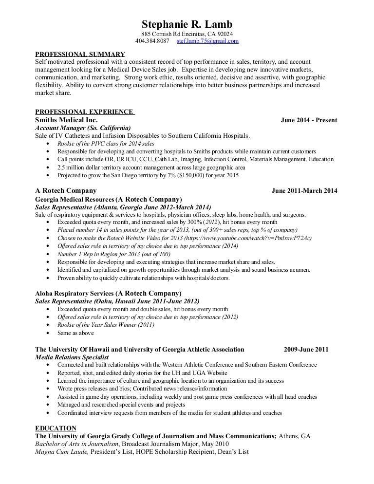 Lamb Resume
