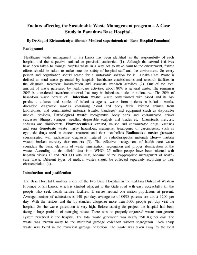 waste management essay waste management essay contest im ...