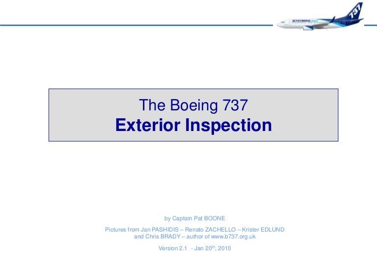 b737mrg exterior inspection rh slideshare net