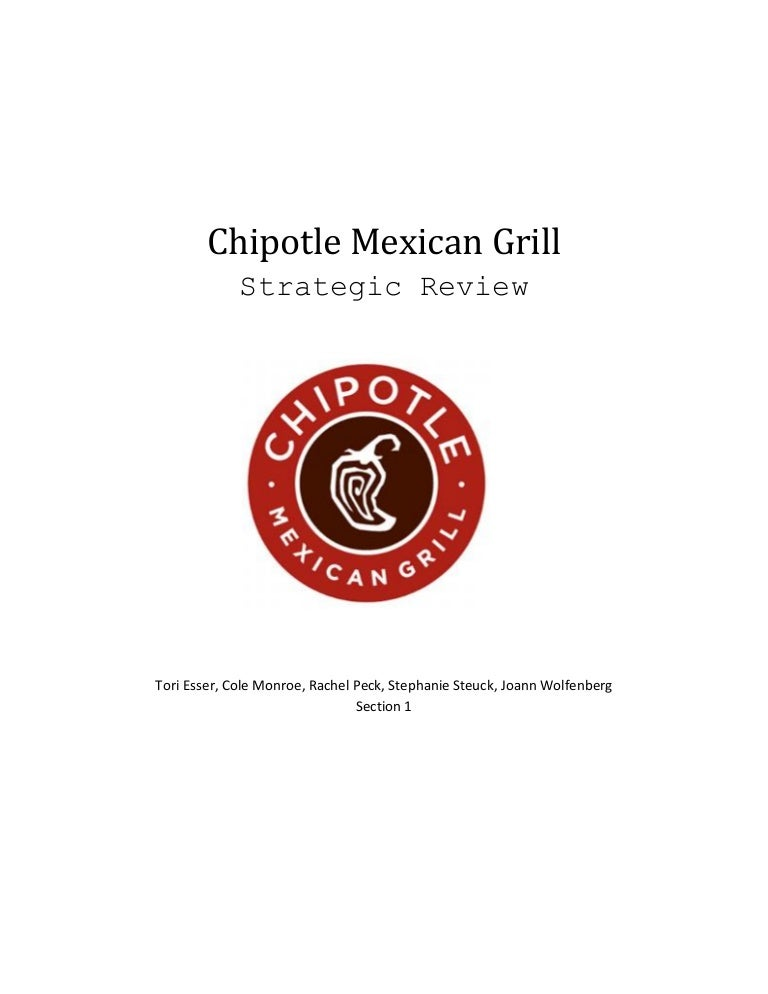 Chipotle Strategic Review