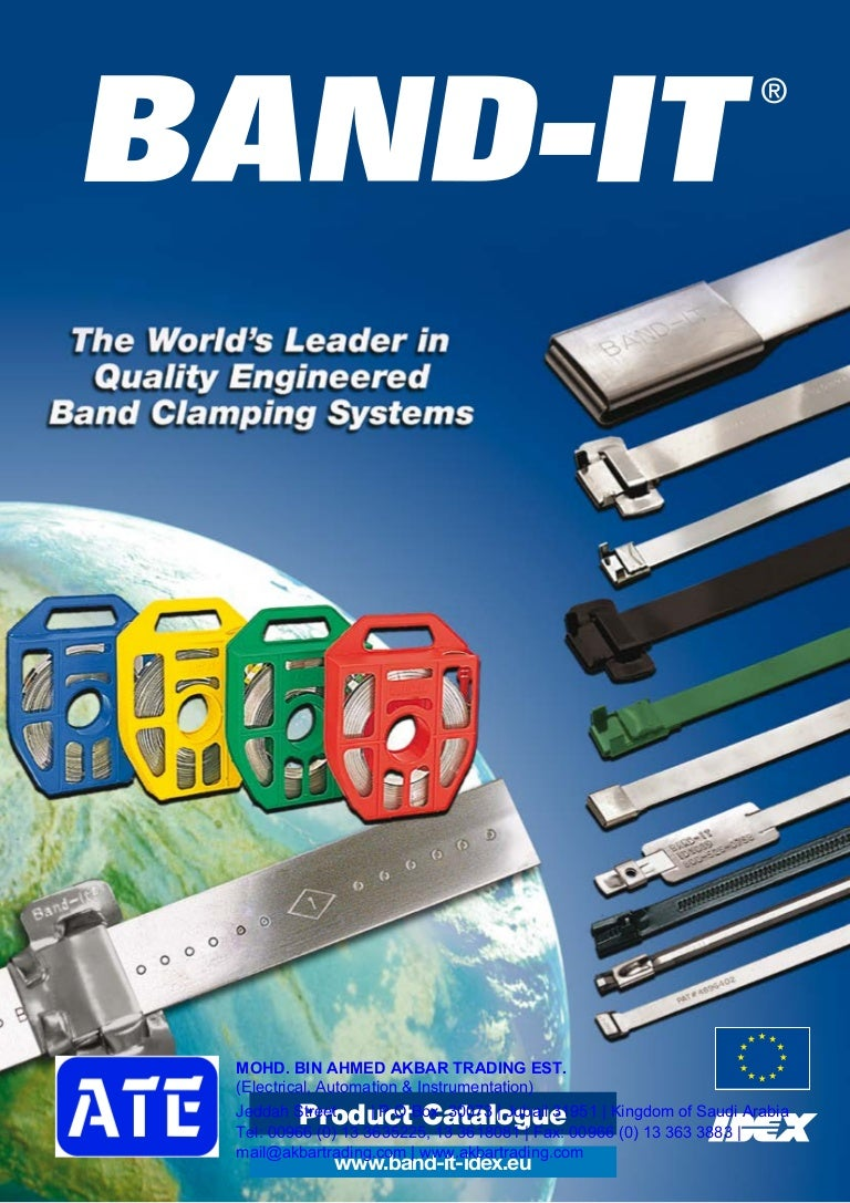 Box Of 100 BAND-IT UB2569 Ultra-Lok 3//4 Wide 201 1//4 Hard Stainless Steel Buckle