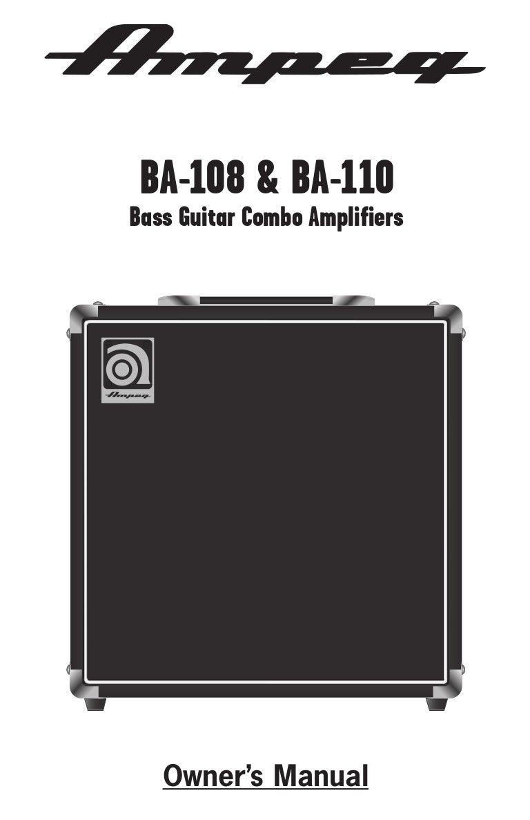 ba 108ba 110 131029184725 phpapp01 thumbnail 4?cb\=1383072468 wiring diagram for a power supply to a ampeg ba 108 ampeg ba115v2  at bakdesigns.co