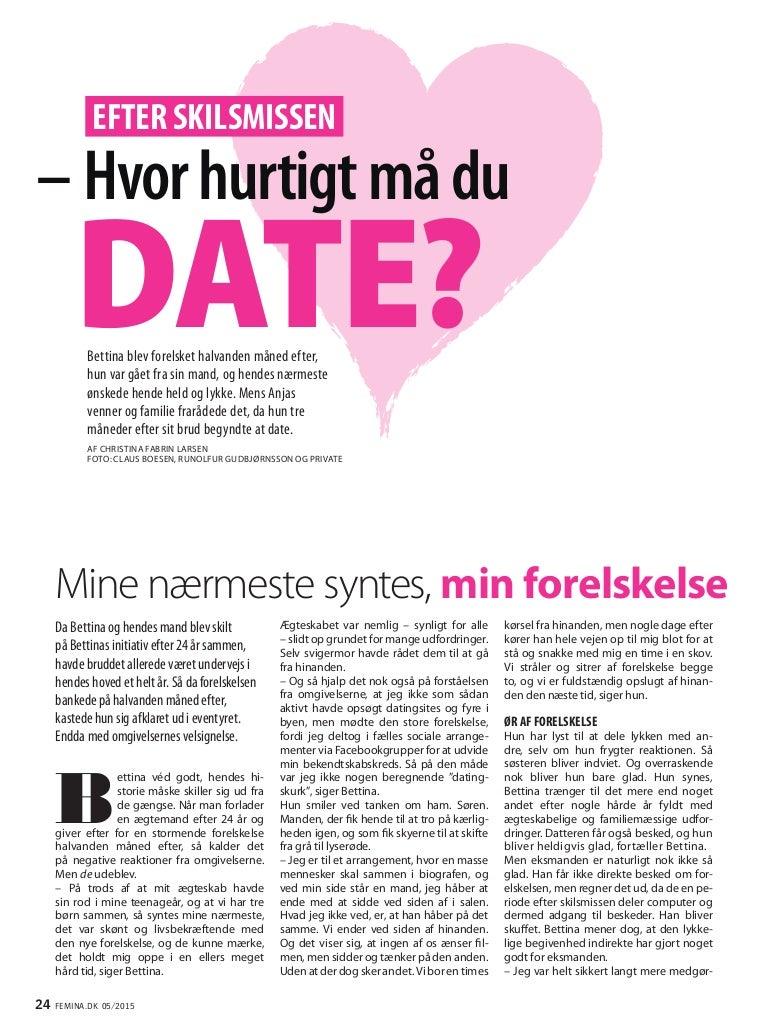 Hvad sker der efter 4 måneders dating