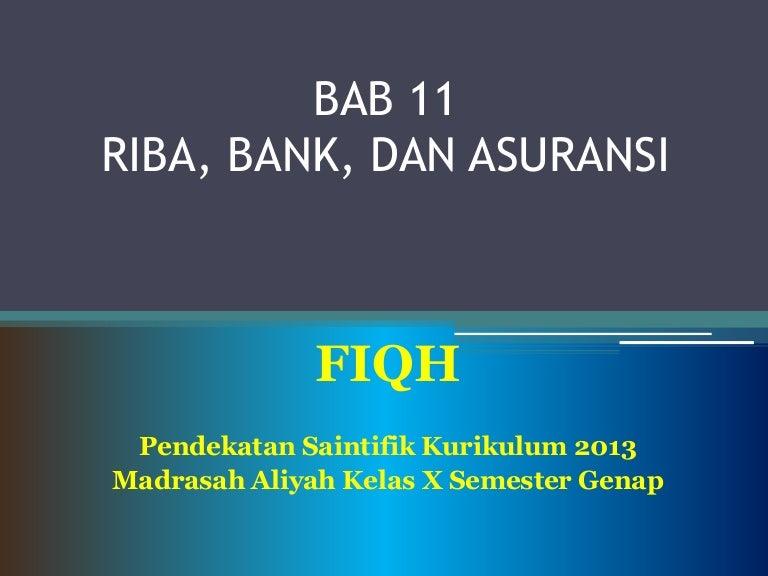 Riba Bank Dan Asuransi