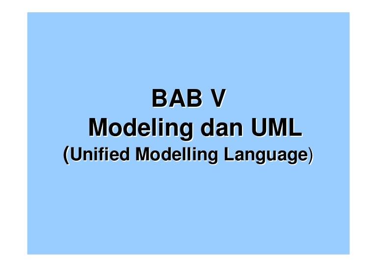 Bab 5 diagram uml dan prosess modeling 2010 ccuart Image collections