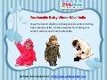 Pink Blue India - Fashionable Baby Winter Wear India