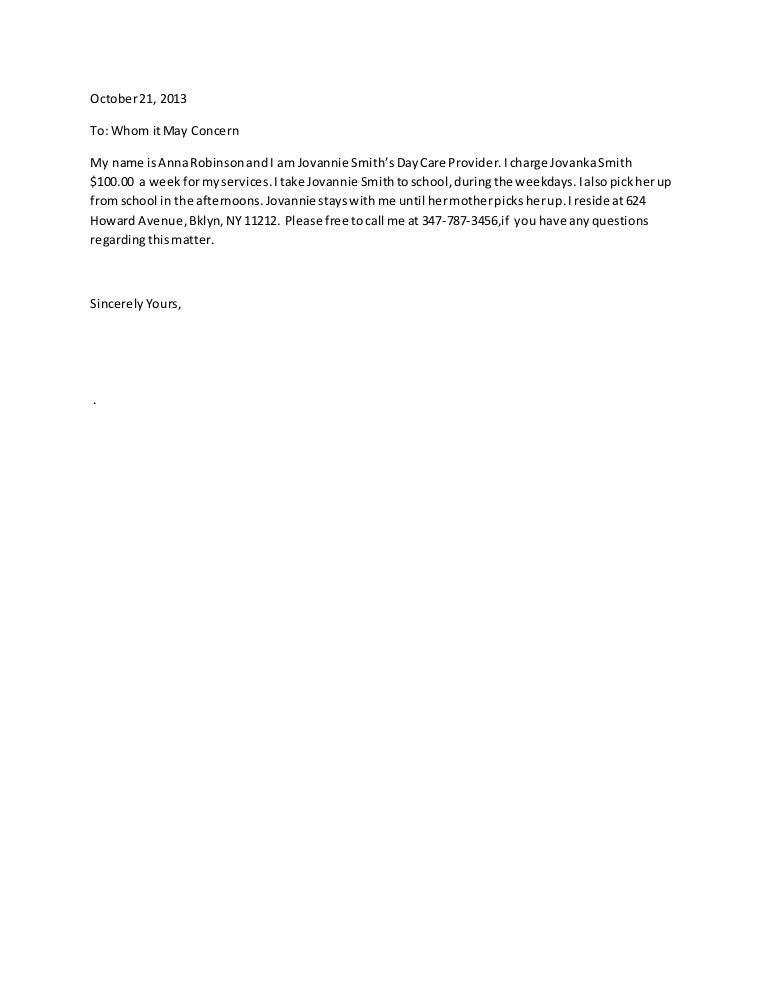 babysitter reference letter sample from term paper delivered online