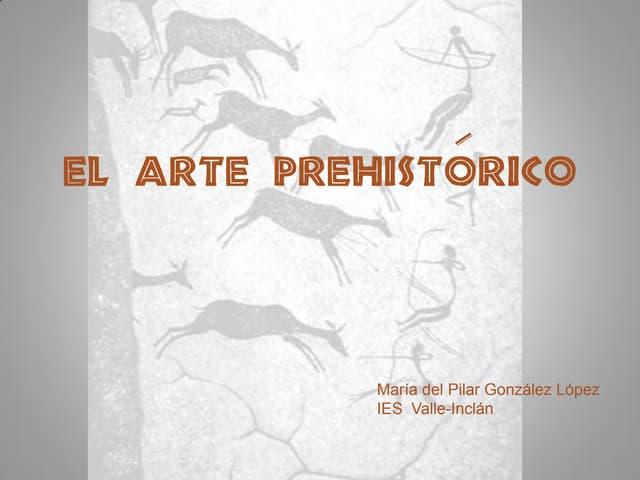 Arte prehistórico para bachiller