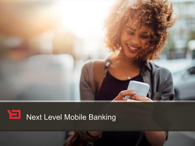 Backbase Webinar: Next Level Mobile Banking