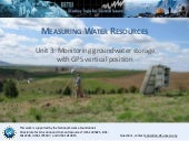 Presentation: Unit 3 background information