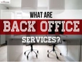 Back office services  call2customer