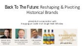 Back To The Future: Pivoting Historical Liquor Brands