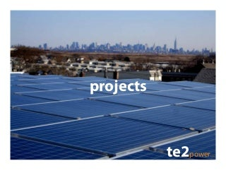 Te2power Solar Photovoltaic Projects And Drawings