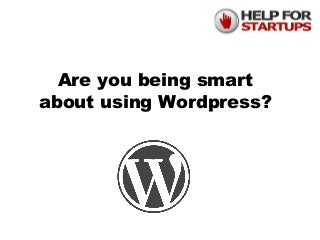 How to be Smart in Maintaining WordPress Websites