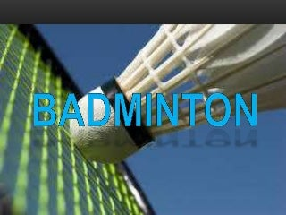 Badminton Grade 7 Physical Education