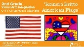 Ba grade 2 unit 1 romero britto american flags