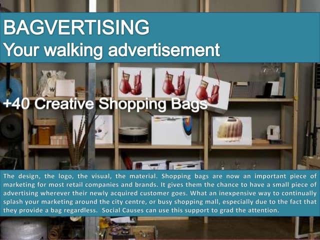 +40 Creative Shopping Bags   Bagvertising