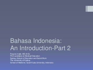 Bahasa indonesia an introduction-rosa-jan 16