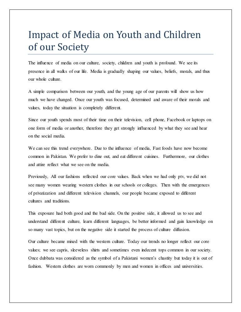 impact of social media on youth speech