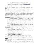 Bài tập thực hành kê khai thuế có đáp án
