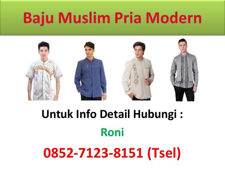 0852 7123 8151 Tsel Jual Baju Muslim Pria Modern D