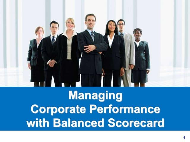 Balanced scorecard ppt slides