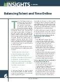Balancing Talent & Time Online