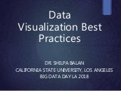 Data Con LA 2018 - Best Practices in Data Visualization by Shilpa Balan