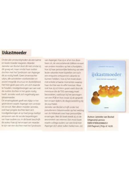 Balans recensie IJskastmoeder mei 2010