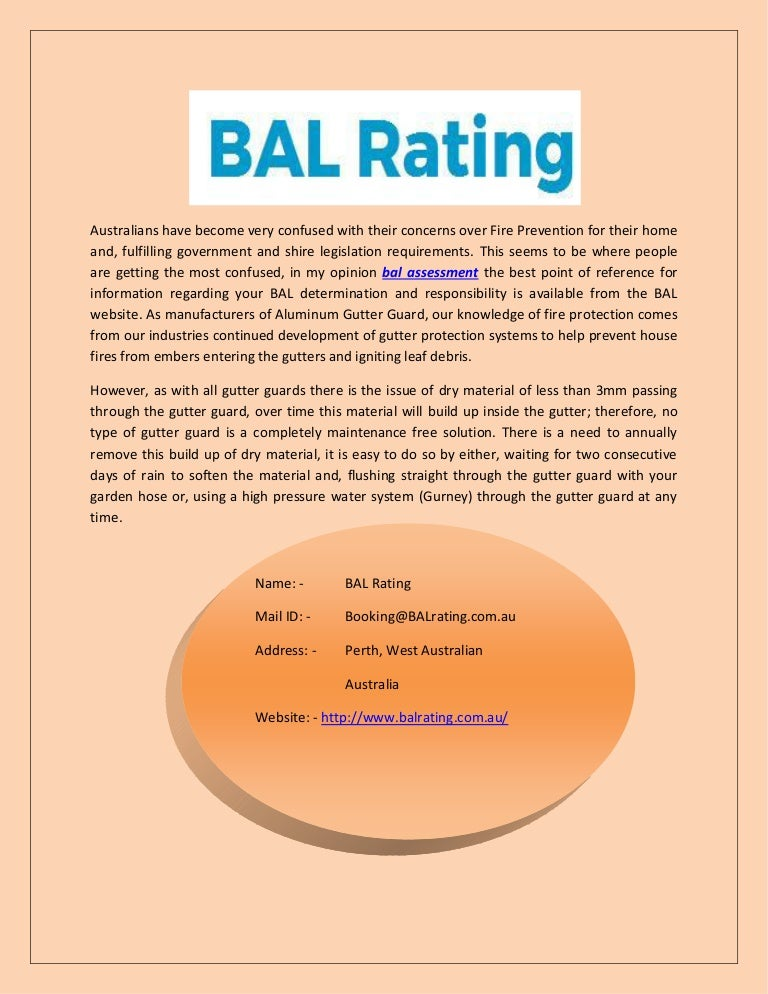how to find your bal rating