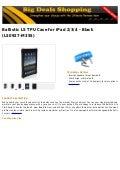 Ballistic ls tpu case for i pad 2 3 4   black (ls0927-m355)